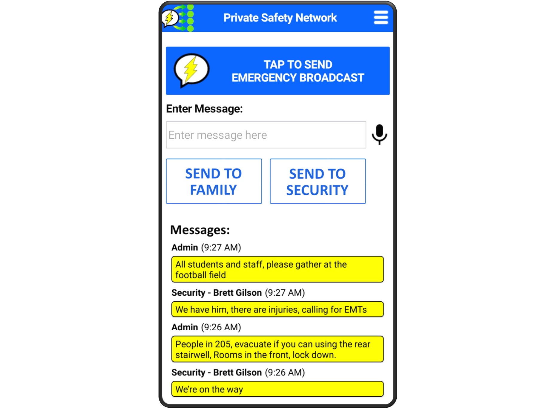 Private Safety Network