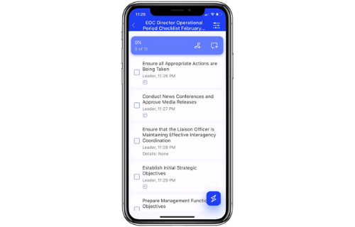 Groupdolists for Emergency Response