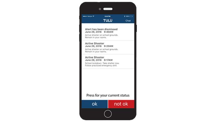 TULU Pro Mass Emergency Communications App